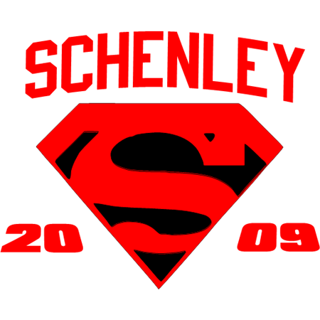 Superman, High School, Spirit,Shcenley 1,clipart,lineart,line art,t-shirt,t-shrits,tee shrits,designs,silk,screen,teeshirts, screen-printing,embroidery,logo,mascot,did this one for a high school,No Limit Desigs,PGH,PA,15206